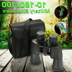 10-180 x 100 Zoom Day Night Vision Binocular Telescope Hunti