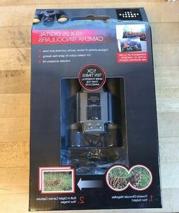Sharper Image 10 x 25 Digital Camera Binoculars New in Box