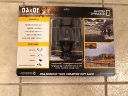 National Geographic 10 x 40 Folding Binoculars w/Case *Bird