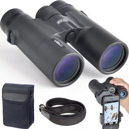 Gosky 10 x 42 Binoculars for Adults Compact HD Professional