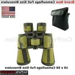 Gskyer 10 x 50 Camouflage Full Size Binoculars Waterproof Mu