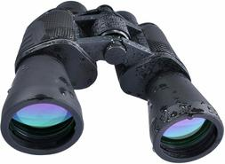 USCAMEL 10 x 50 HD Binoculars Military with Ranging, Compass