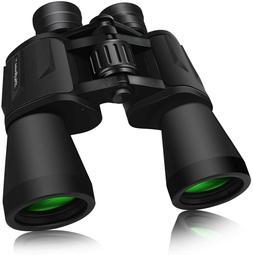 SkyGenius 10 x 50 Powerful Binoculars for Adults Durable Ful