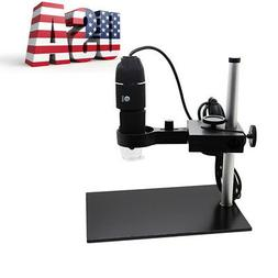 1000X Magnification USB Digital Microscope Built-in 8 LED Ca