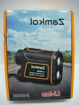 Zamkol 1000yds Golf Laser Rangefinder IP54 Laser Binoculars