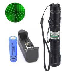 100Miles High Power Green Laser Pointer Military Beam Lazer