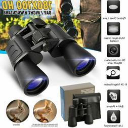 100x180 High Power Military Binoculars Day/Night BAK4 Optics