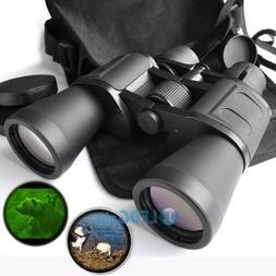 100x180 Zoom Day Night Vision Outdoor Travel Binoculars Hunt