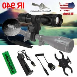 10w 940nm IR LED Zoomable Night Vision Infrared Radiation Fl