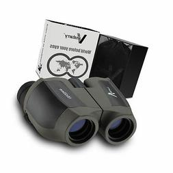 10x25 Binoculars for Adults - Image Stabilization and Waterp