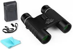 10x25 Binoculars Small Compact Lightweight For Concert Theat