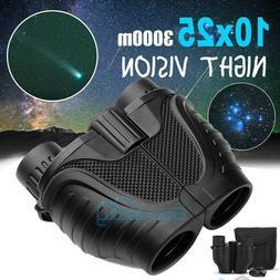 10X25 Binoculars Day Night Vision Auto Focus BAK4 High Power