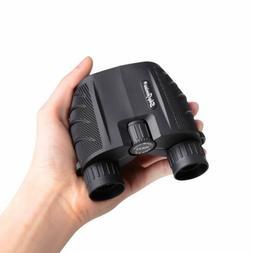 10x25 Compact Binoculars Foldable Outoor Camping Hiking Tele