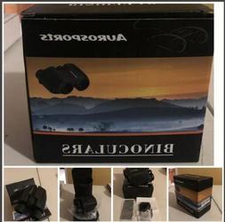 Aurosports 10x25 Folding High Powered Binoculars with