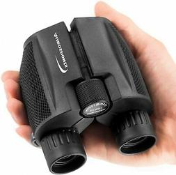 10x25 folding high powered compact binoculars