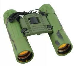 10x25  Ruby Lense Perrini Binoculars Camo Good Quality With