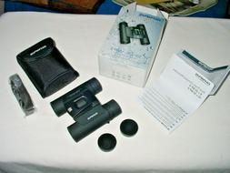 Olympus 10x25 WP II Black Waterproof Binoculars New In Box