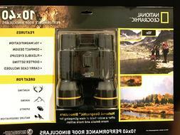 National Geographic 10X40 Performance Roof Binoculars w/case