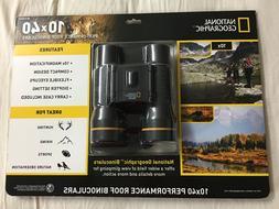 National Geographic 10x40 Performance Roof Binoculars