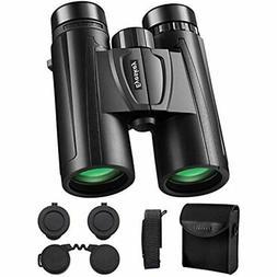Eyeskey 10X42 Binoculars Adults, HD Bird Watching Travel Con
