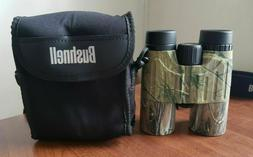 Bushnell 10X42 Camo Binoculars Waterproof FOV 304 FT with Ca