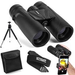 10X42 Compact Binoculars For Adults Bird Watching Sports Eve