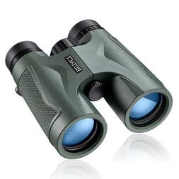 10X42 Compact Binoculars HD for Adults Hunting Bird Watching