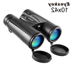 Eyeskey10x42 HD Binoculars Durable and Lightweight Telescope