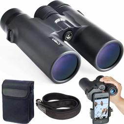 Gosky 10x42 Roof Prism Binoculars for Adults, HD Professiona