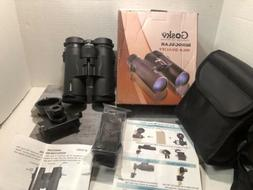 Gosky 10x42 Roof Prism HD Professional Binoculars,strap,case