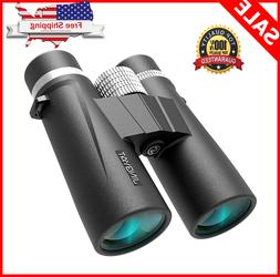 10x42 Waterproof Binoculars for Adults or Kids for Bird Watc