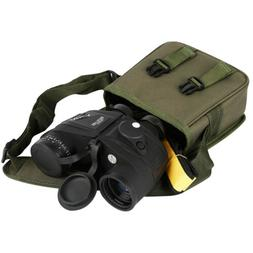 10x50mm Waterproof Low Light Vison Marine Binoculars w/ Comp