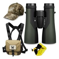 Vortex 10x50 Crossfire HD Roof Prism Binoculars w/Floating S