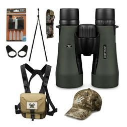 Vortex 10x50 Diamondback Binoculars with GlassPak Harness Ca