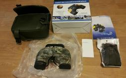 BNISE 10x50 Military Waterproof HD Binoculars with Rangefind