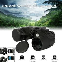 10X50 Waterproof low light level Night Vison Binoculars Mili