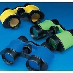 12 Plastic Kids Binoculars, Asst Colors, Party Favors, Prete