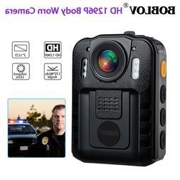 1296P HD Camera Police Body Camcorder 170° Wide Angle IR Ni