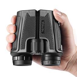 12x25 Binoculars for Adults Folding High Powered Binoculars