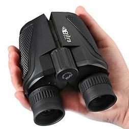 G4Free 12x25 Compact Binoculars,Large Eyepiece Super