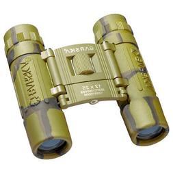 Barska 12x25 Lucid View Compact Camo Binocular w/ Carrying C