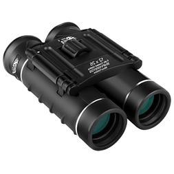 12x26 Mini Binoculars HD BAK4 Clear Optical Lens Ultra-Visio