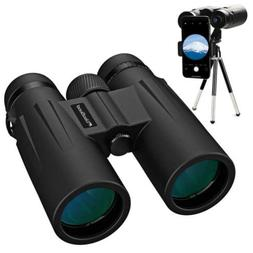 Usogood 12X50 Binoculars for Adults with Tripod, Waterproof