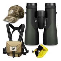Vortex 12x50 Crossfire HD Roof Prism Binoculars w/Floating S