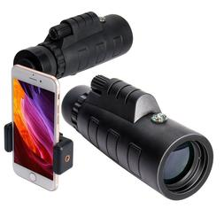 12x50 High Power Monocular Binocular Spotting Scope Telescop
