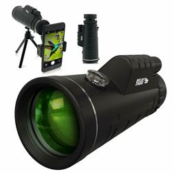 CE Optics 12X50 Monocular Telescope - High Powered BAK4 Pris