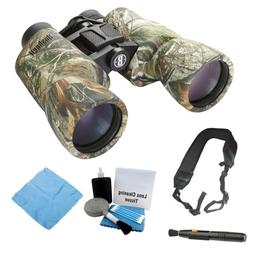 Bushnell Powerview 10x 42mm Binoculars  with Care Kit and St