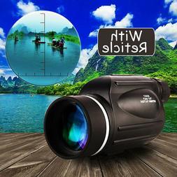 13x50 HD Rangefinder Spotting Scope Monocular Measurable Ret