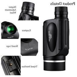 13x50 HD Rangefinder Spotting Scope Monocular Porro With Ran