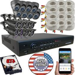 Sikker 16 CH Channel AHD CCTV DVR 1080P 2 Megapixel Camera S